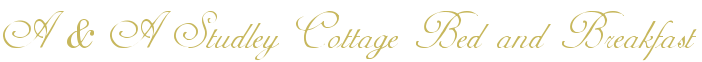 www.studleycottage.co.uk Logo